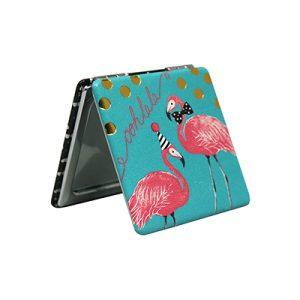 Disaster Designs Candy Pop Flamingo Compact Mirror