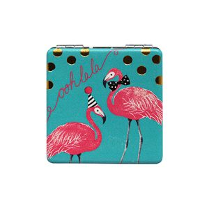Disaster Designs Candy Pop Flamingo Compact Mirror