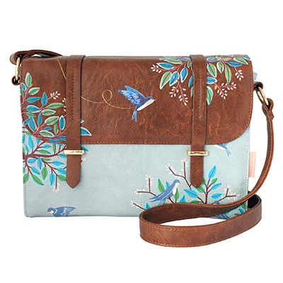 Secret Garden Bird Satchel Bag - Disaster Designs