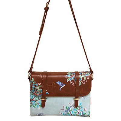 Secret Garden Bird Satchel Bag - Disaster Designs