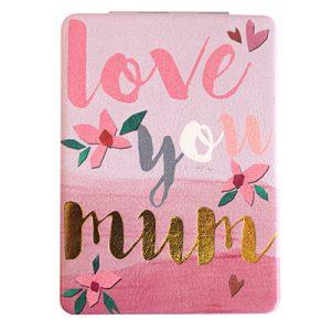 Disaster Designs Ta-Daa! Love You Mum Compact Mirror