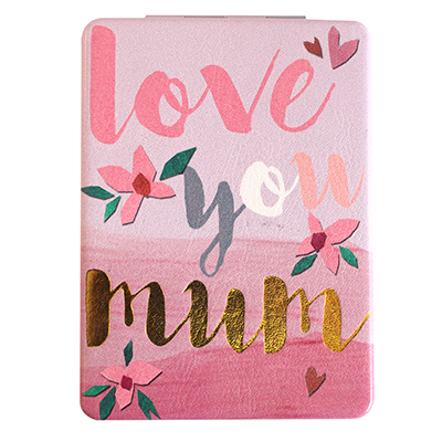 Disaster Designs Ta-Daa! Love You Mum Compact Mirror