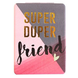 Disaster Designs Ta-Daa! Super Duper Friend Compact Mirror