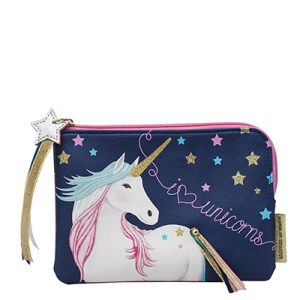 Candy Pop Unicorn Zip Pouch - Disaster Designs