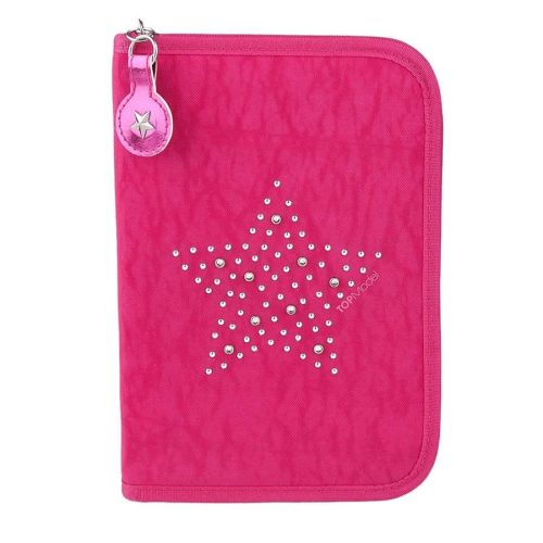 Top Model Filled Pencil Case Deluxe (Pink) - Depesche