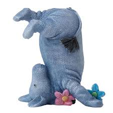 Disney Classic Winnie The Pooh Eeyore (Head Stand) Figurine - Enesco