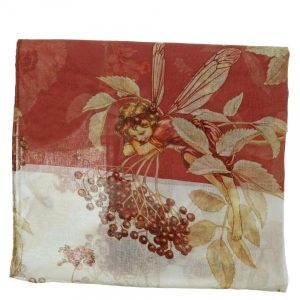 Flower Fairies Jasmine Fairy Ladies Scarf A29243