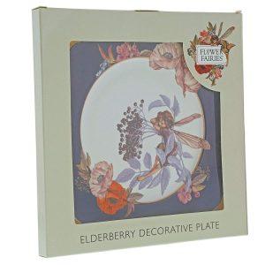 Flower Fairies Elderberry Plate