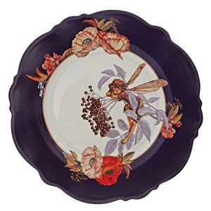 Flower Fairies Elderberry Plate