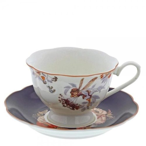 Flower Fairies Elderberry Cup & Saucer A28942