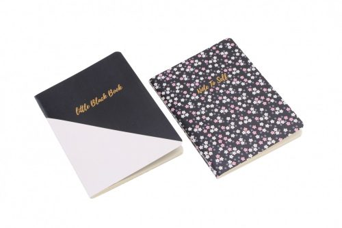 Little Black Book and Note To Self A6 Notebook Set - Willow & Rose