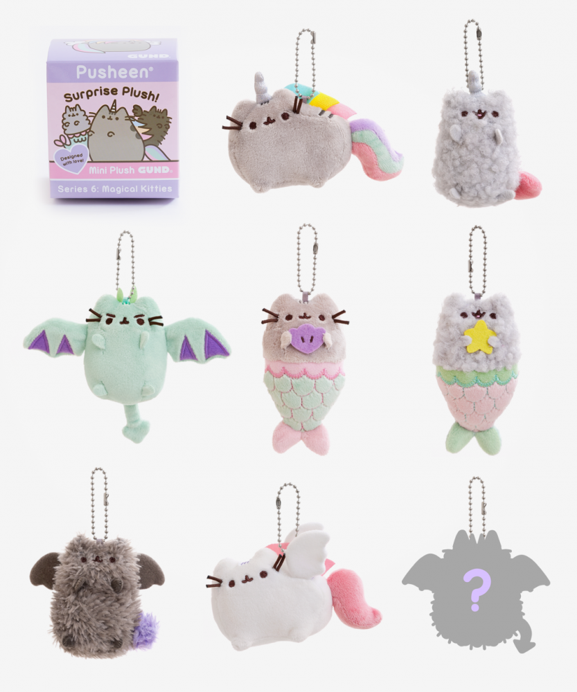 Pusheen Surprise Plush Mystery Box Series 6: Magical Kitties