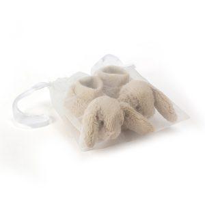 Jellycat Bashful Beige Bunny Booties