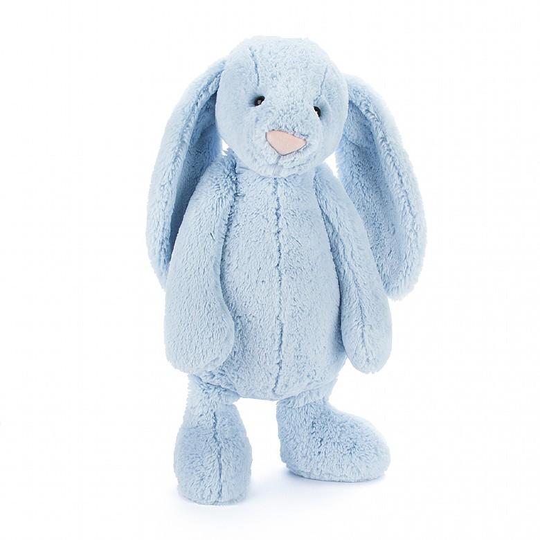 Jellycat Bashful Blue Bunny - Huge 51 cm