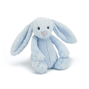 Jellycat Bashful Blue Bunny - Medium 31 cm