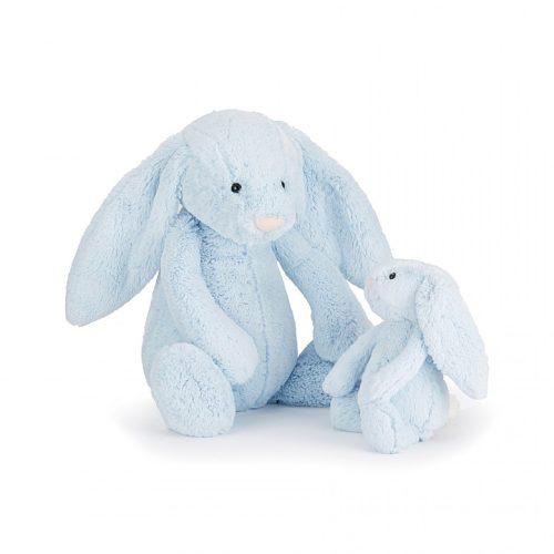Jellycat Bashful Blue Bunny - Medium 31 cm