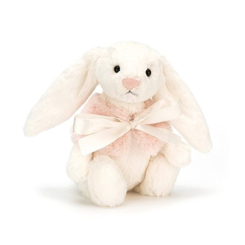 Jellycat Bashful Cream Snow Bunny - Small 18 cm
