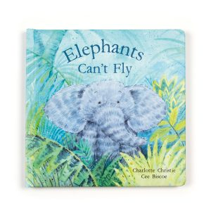 Elephants Can't Fly Book - Jellycat