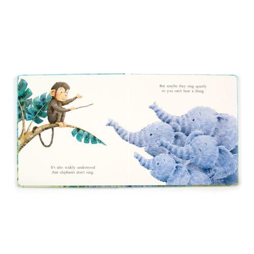Elephants Can't Fly Book - Jellycat