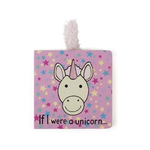 If I Were A Unicorn Board Book - Jellycat
