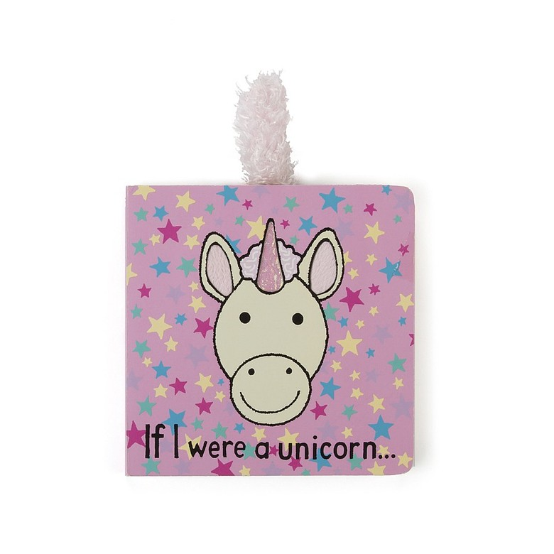 If I Were A Unicorn Board Book - Jellycat