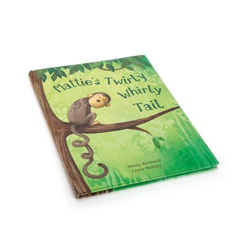 Mattie's Twirly Whirly Tail Book - Jellycat