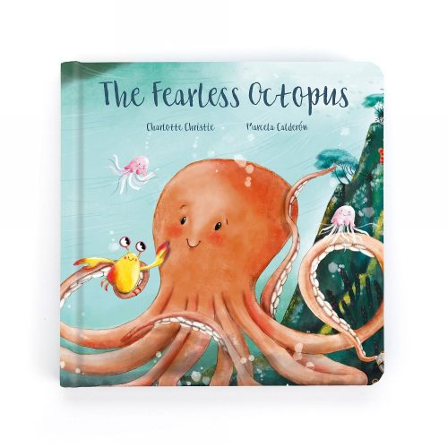 The Fearless Octopus Book - Jellycat