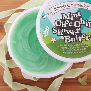 Mint Choc Chip Cleansing Shower Butter - Bomb Cosmetics
