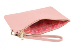 Pretty Things Coral Pink Beauty Bag - Willow & Rose