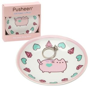Pusheen Pink Ring Dish – Our Name Is Mud