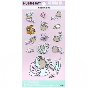Pusheen Mermaid Sticker Sheet