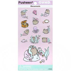 Pusheen Mermaid Sticker Sheet