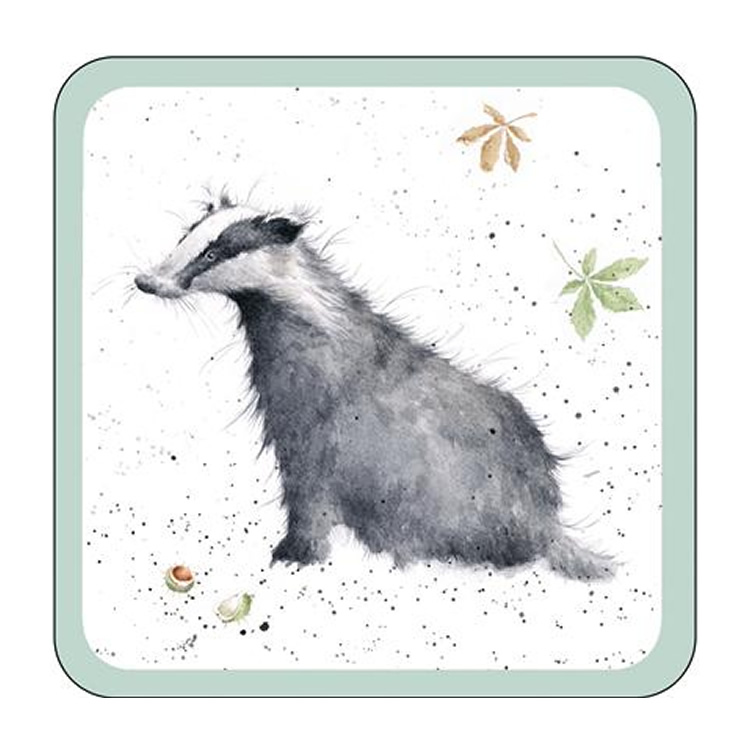 Wrendale Designs - Badger Coaster