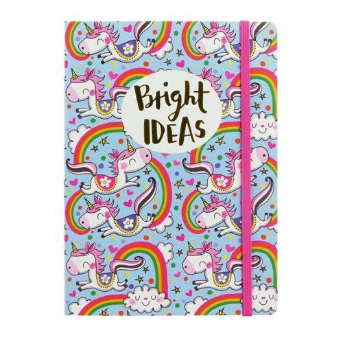 Bright Ideas Unicorns A5 Notebook - Rachel Ellen Designs