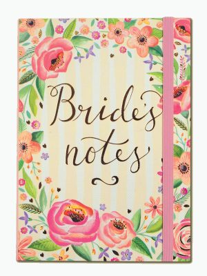 Bride's Notes A6 Notebook – Rachel Ellen Designs