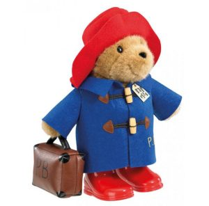 Paddington Bear Large Classic with Boots and Suitcase – Rainbow Designs