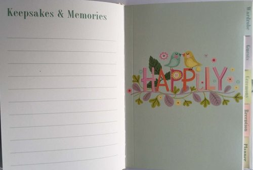 Happily Ever After Wedding Diary Planner - Roger La Borde