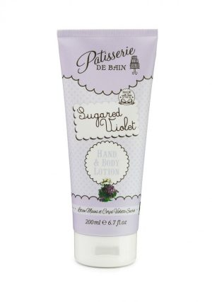 Rose & Co Patisserie de Bain Hand & Body Lotion Sugared Violet 200ml