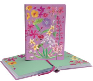 Abundance Floral Softback Journal - Roger La Borde