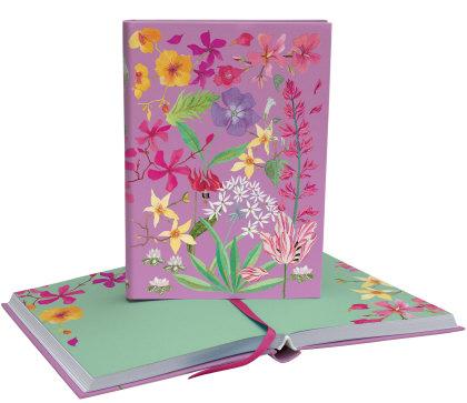 Abundance Floral Softback Journal - Roger La Borde