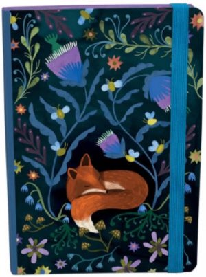 Lodestar Sleeping Fox A5 Journal With Elastic - Roger La Borde