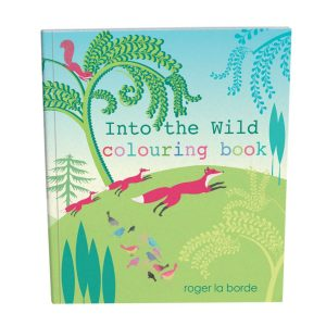 Into The Wild Colouring Book - Roger La Borde