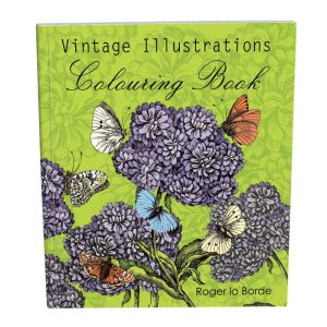 Vintage Illustrations Colouring Book - Roger La Borde