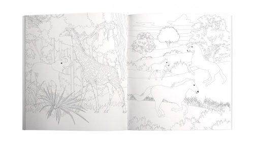 Call of the Wild Tropical Colouring Book - Roger La Borde