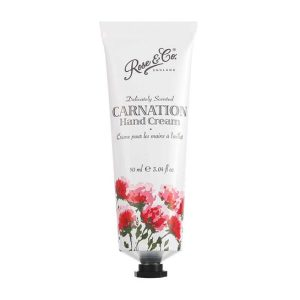 Rose & Co Patisserie de Bain Vintage Florals Carnation Hand Cream Tube 90ml