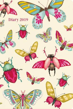 2019 Pocket Diary, Butterflies and Insects - Santoro