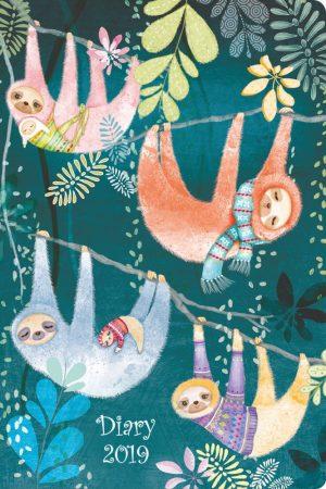 2019 Pocket Diary, Sloths - Santoro