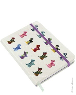 Santoro Eclectic Hardcover Notebook - Scottie Dogs