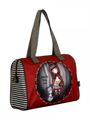 Gorjuss Little Red Riding Hood Coated Barrel Bag