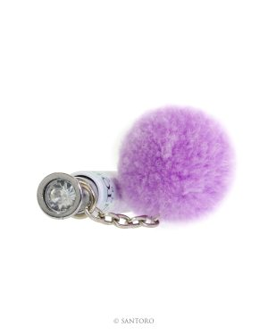 Gorjuss Pom Pom Pen - Sweet Tea (Purple)